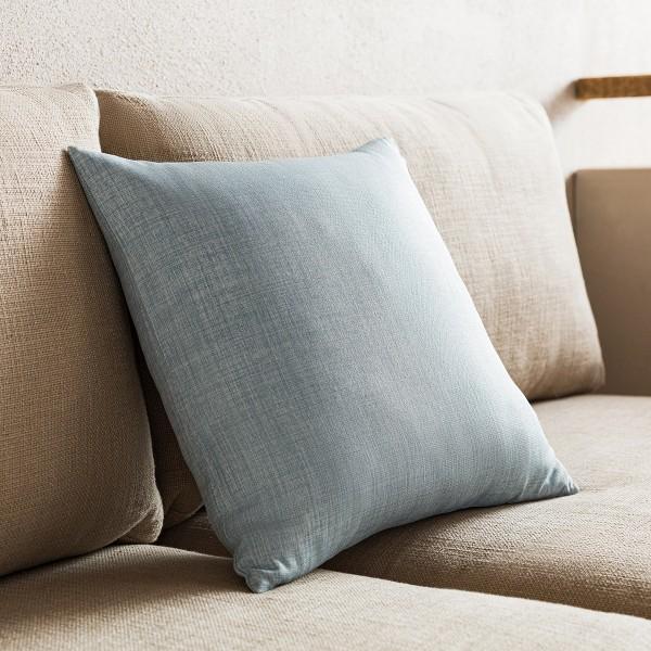 Θήκες για διακοσμητικά μαξιλάρια , (43x43) Gofis Home Chrome Μπλε 930B/01, με σχέδιο