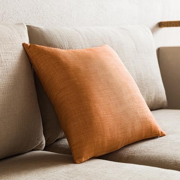 Θήκες για διακοσμητικά μαξιλάρια , (43x43) Gofis Home Chrome Perfect Tan 930B/13, με σχέδιο