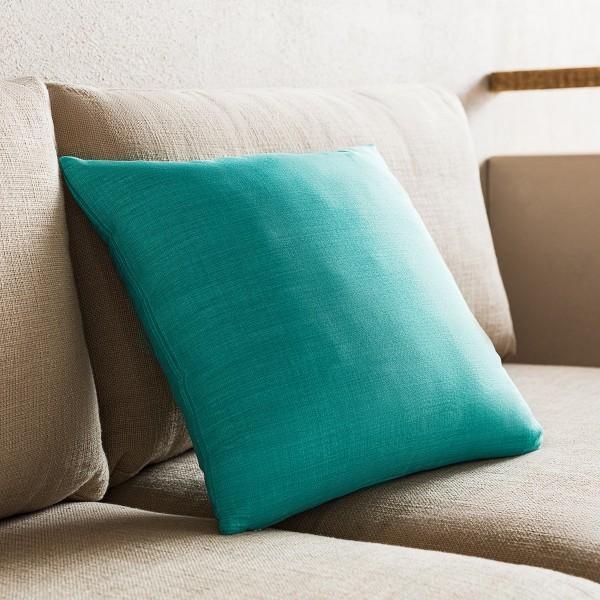 Θήκες για διακοσμητικά μαξιλάρια , (43x43) Gofis Home Τιρκουάζ 930B/24, με σχέδιο