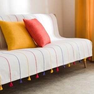 Ριχτάρι Πολυθρόνας για καναπέδες καθιστικού (180x180cm) GOFIS HOME RIB FUNKY 303/20