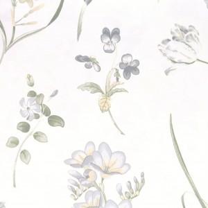 Υφασματα για Κουρτινες - Υφάσματα Κουρτίνες με το μέτρο για Σαλόνι ,Υπνοδωμάτιο ,Καθιστικό , Παιδικό Ashley Wilde ,Buckingham col.Forget Me Not aqua λουλούδια floral Φ1,40 βαμβακερό