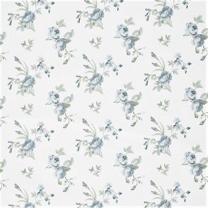 Υφασματα για Κουρτινες - Υφάσματα Κουρτίνες με το μέτρο για Σαλόνι ,Υπνοδωμάτιο ,Καθιστικό , Παιδικό Ashley Wilde ,Clarence col.Forget Me Not aqua λουλούδια floral Φ1,40 βαμβακερό