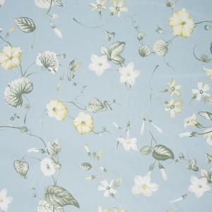 Υφασματα για Κουρτινες - Υφάσματα Κουρτίνες με το μέτρο για Σαλόνι ,Υπνοδωμάτιο ,Καθιστικό , Παιδικό Ashley Wilde ,Henley col.Forget Me Not aqua λουλούδια floral Φ1,40 βαμβακερό