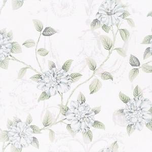 Υφασματα για Κουρτινες - Υφάσματα Κουρτίνες με το μέτρο για Σαλόνι ,Υπνοδωμάτιο ,Καθιστικό , Παιδικό Ashley Wilde ,Osbourne col.Forget Me Not aqua λουλούδια floral Φ1,40 βαμβακερό