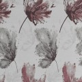 Υφασματα για Κουρτινες - Υφάσματα Κουρτίνες με το μέτρο για Σαλόνι ,Υπνοδωμάτιο ,Καθιστικό , Παιδικό Ashley Wilde ,Cecily col.Berry floral Jacquard σχέδιο λουλουδιών σε γκρι-δαμασκηνί αποχρώσεις Φ1.40 , χωρίς διαφάνεια