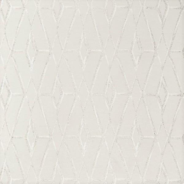 Υφασματα για Κουρτινες - Υφάσματα Κουρτίνες με το μέτρο για Σαλόνι ,Υπνοδωμάτιο ,Καθιστικό , Παιδικό Ashley Wilde ,Huck col.Ivory Jacquard μοντέρνο γεωμετρικό σχέδιο με ρόμβους σε ivory-ασημί φόντο Φ1.33 , χωρίς διαφάνεια