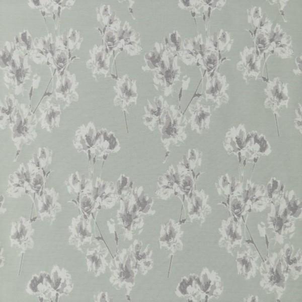 Υφασματα για Κουρτινες - Υφάσματα Κουρτίνες με το μέτρο για Σαλόνι ,Υπνοδωμάτιο ,Καθιστικό , Παιδικό Ashley Wilde ,Mae col.Aloe floral Jacquard σχέδιο λουλουδιών σε χρώμα εκρού-πράσινου Φ1.40 , χωρίς διαφάνεια
