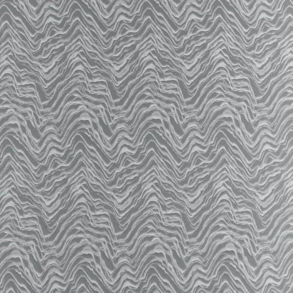Υφασματα για Κουρτινες - Υφάσματα Κουρτίνες με το μέτρο για Σαλόνι ,Υπνοδωμάτιο ,Καθιστικό , Παιδικό Ashley Wilde ,Prue col.Silver Jacquard μοντέρνο γεωμετρικό σχέδιο με κυματοειδείς σχηματισμούς σε γκρι-ασημί φόντο Φ1.38 , χωρίς διαφάνεια