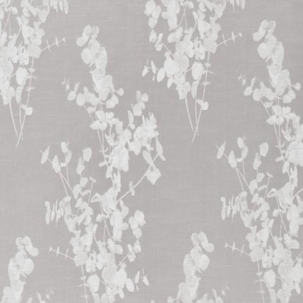 Υφασματα για Κουρτινες - Υφάσματα Κουρτίνες με το μέτρο για Σαλόνι ,Υπνοδωμάτιο ,Καθιστικό , Παιδικό Ashley Wilde ,Tallula col.Silver floral Jacquard σχέδιο λουλουδιών σε γκρι-ασημί Φ1.40 , χωρίς διαφάνεια