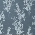 Υφασματα για Κουρτινες - Υφάσματα Κουρτίνες με το μέτρο για Σαλόνι ,Υπνοδωμάτιο ,Καθιστικό , Παιδικό Ashley Wilde ,Tallula col.Sky floral Jacquard σχέδιο λουλουδιών σε μπλε-γκρι φόντο Φ1.40 , χωρίς διαφάνεια