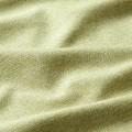 Υφάσματα Κουρτίνες με το μέτρο για Σαλόνι ,Υπνοδωμάτιο ,Καθιστικό AERIS 52 lime panama υφαντό ματ μονόχρωμο με απαλό φινίρισμα Φ280 χωρίς διαφάνεια
