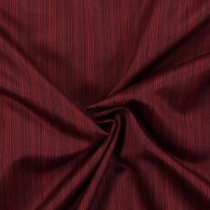 Υφασματα για Κουρτινες - Υφάσματα Κουρτίνες με το μέτρο για Σαλόνι ,Υπνοδωμάτιο ,Καθιστικό SOLEDADE 15 μπορντό ζακαρ ριγέ ψιλό πολυεστερικό Φ280