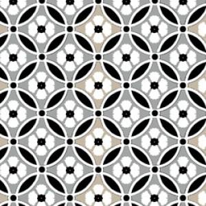 Υφάσματα Κουρτίνες με το μέτρο για Σαλόνι ,Υπνοδωμάτιο ,Καθιστικό FANDANGO 32 γκρι εκρού μοτίβα ethnic digital βαμβακερό Φ280