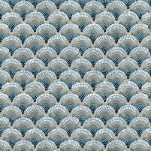 Υφάσματα Κουρτίνες με το μέτρο για Σαλόνι ,Υπνοδωμάτιο ,Καθιστικό SAND 62 πετρολ εκρού ethnic digital βαμβακερό Φ280