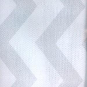 Κουρτίνες με το μέτρο για παιδικά εφηβικά δωμάτια, για κορίτσια , για αγόρια , για bebe δωμάτια Espiguita 01 εκρού γκρι zig-zag digital print βαμβακερό Φ280 χωρίς διαφάνεια