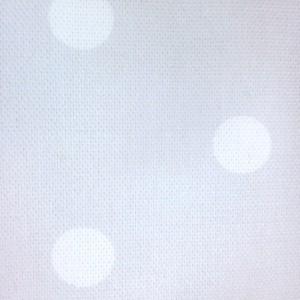 Κουρτίνες με το μέτρο για παιδικά εφηβικά δωμάτια, για κορίτσια , για αγόρια , για bebe δωμάτια Topitos 11 γκρι με εκρού πουα digital print βαμβακερό Φ280 χωρίς διαφάνεια