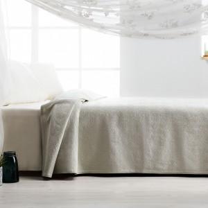 Υπέρδιπλες Κουβέρτες Πικέ ,Κουβερτόρια  ,Επιλεγμένες Συλλογές με ποιότητα και γούστο για κάθε δωμάτιο,  230X240cm Gofis Home 284Α/18 Πράσινο Μέντας με ανάγλυφο ζακάρ γεωμετρικό σχέδιο