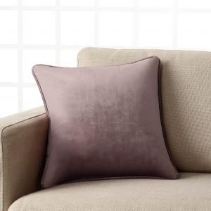 Θήκες για διακοσμητικά μαξιλάρια , (43X43) Gofis Home WINTER 711A/19 Λιλά  Μονόχρωμη suede