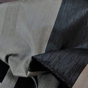 Κουρτινες Προσφορα - Υφάσματα Κουρτίνες με το μέτρο για Σαλόνι , Καθιστικό, Τραπεζαρία , Υπνοδωμάτιο, Έπιπλα TACOMA/06 γκρι μαύρο ριγέ Φ280
