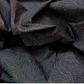 Κουρτινες Προσφορα - Υφάσματα Κουρτίνες με το μέτρο για Σαλόνι , Καθιστικό, Τραπεζαρία , Υπνοδωμάτιο, Έπιπλα 552/2483/8 μωβ floral ταφτάς Φ300 πολυεστερικό