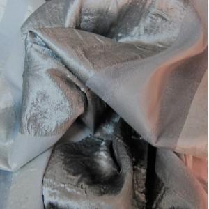Κουρτινες Προσφορα - Υφάσματα Κουρτίνες με το μέτρο για Σαλόνι , Καθιστικό, Τραπεζαρία , Υπνοδωμάτιο ,Έπιπλα ECLIPSE/6 γκρι ασημί ριγέ ζακαρ Φ280 πολυεστερικό