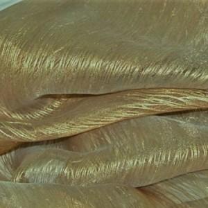 Κουρτινες Προσφορα - Κουρτίνες Υφάσματα με το μέτρο για Σαλόνι , Καθιστικό, Τραπεζαρία , Υπνοδωμάτιο MEXICO/6 καφέ με χρυσαφί ίνες  Φ300 πολυεστερική