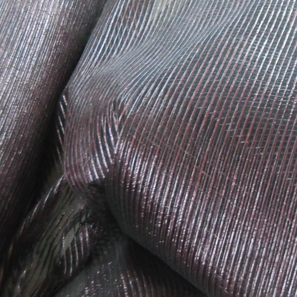 Κουρτινες Προσφορα - Κουρτίνες Υφάσματα με το μέτρο για Σαλόνι , Καθιστικό, Τραπεζαρία , Υπνοδωμάτιο 830/6019/8 μωβ ριγέ Φ320 πολυεστερική