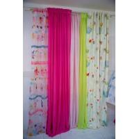 Έτοιμες Ραμμένες Κουρτίνες για παιδικό δωμάτιο, κουρτίνες έτοιμες συσκότισης, ημιδιαφανείς, διαφανείς ,δαντέλες