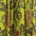 Κουρτίνες Έτοιμες Ραμμένες Υφάσματα για Σαλόνι , Καθιστικό, Τραπεζαρία , Υπνοδωμάτιο χωρίς διαφάνεια 140X280 Jazz 472/2804/3 πολύχρωμος floral ταφτάς με απλή συνεχόμενη τρέσα