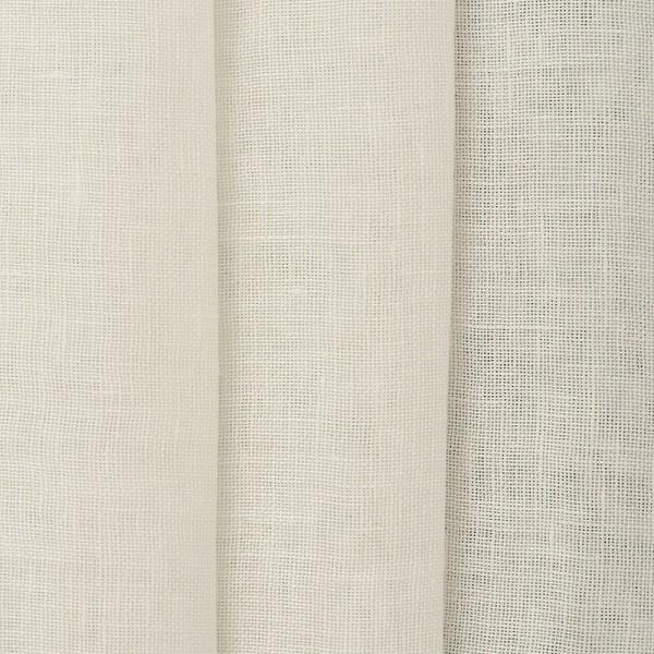 Υφασματα για Κουρτινες - Κουρτίνες με το μέτρο για όλο το σπίτι ,Jasmine natur μονόχρωμη λινή Φ310 ημιδιάφανη