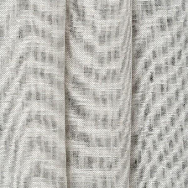 Υφασματα για Κουρτινες - Κουρτίνες με το μέτρο για όλο το σπίτι ,Jasmine taupe μονόχρωμη λινή Φ310 ημιδιάφανη