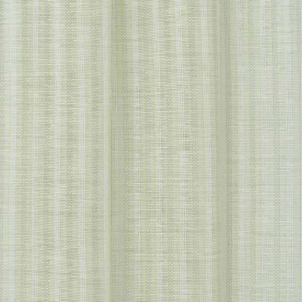 Υφασματα για Κουρτινες - Κουρτίνες με το μέτρο για όλο το σπίτι ,Tessera Lime με ψιλή ρίγα Φ315 ,με διαφάνεια