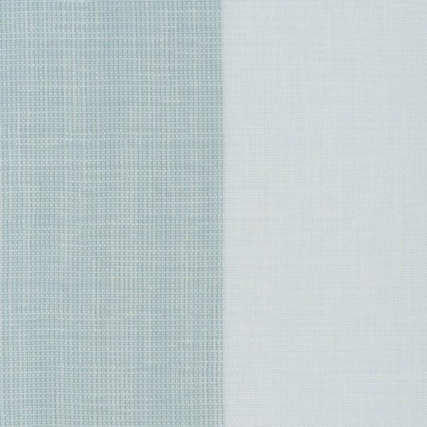Υφασματα για Κουρτινες - Κουρτίνες με το μέτρο για όλο το σπίτι ,Tessera 2 turquoise με φαρδιά ρίγα Φ315 ,με διαφάνεια