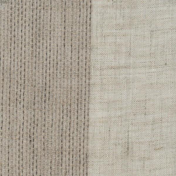 Υφασματα για Κουρτινες - Κουρτίνες με το μέτρο για όλο το σπίτι , Reborn taupe με ρίγα σε σταχτί-μπεζ χρώμα Φ300  μερικής διαφάνειας