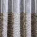 Υφασματα για Κουρτινες - Υφάσματα Κουρτίνες με το μέτρο για Σαλόνι ,Υπνοδωμάτιο ,Καθιστικό ,Γραφείο Arzano 02 beige γεωμετρική τύπου λινή Φ3.00 , ημιδιαφανή