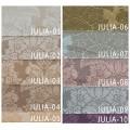 Υφάσματα Κουρτίνες με το μέτρο για Σαλόνι ,Υπνοδωμάτιο ,Καθιστικό ,Γραφείο TL Julia/04 brown damask σχέδιο διπλής όψης με απαλή υφή Φ2.80 , χωρίς διαφάνεια
