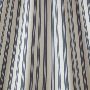 Υφασματα για Κουρτινες - Υφάσματα Κουρτίνες με το μέτρο για Σαλόνι ,Υπνοδωμάτιο ,Καθιστικό iLiv Blazer Stripe/Denim ραφ ριγέ βαμβακερό υφαντό Φ140 χωρίς διαφάνεια