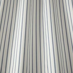 Υφασματα για Κουρτινες - Υφάσματα Κουρτίνες με το μέτρο για Σαλόνι ,Υπνοδωμάτιο ,Καθιστικό iLiv Ticking Stripe/Denim ραφ ριγέ βαμβακερό υφαντό Φ140 χωρίς διαφάνεια