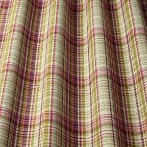 Υφάσματα Κουρτίνες με το μέτρο για Σαλόνι ,Υπνοδωμάτιο ,Καθιστικό iLiv_Byron Auburn πολύχρωμο γεωμετρικό καρώ υφαντό Φ140 χωρίς διαφάνεια