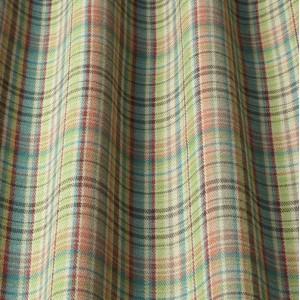 Υφάσματα Κουρτίνες με το μέτρο για Σαλόνι ,Υπνοδωμάτιο ,Καθιστικό iLiv_Byron Forest πολύχρωμο γεωμετρικό καρώ υφαντό Φ140 χωρίς διαφάνεια