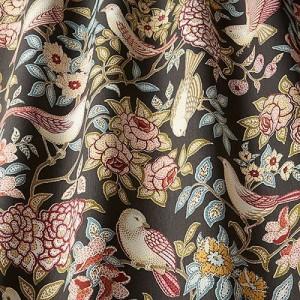 Υφασματα για Κουρτινες - Υφάσματα Κουρτίνες με το μέτρο για Σαλόνι ,Υπνοδωμάτιο ,Καθιστικό iLiv_Heritage Cedar πολύχρωμο floral σχέδιο βαμβακερό Φ140 χωρίς διαφάνεια