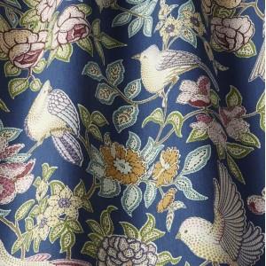 Υφασματα για Κουρτινες - Υφάσματα Κουρτίνες με το μέτρο για Σαλόνι ,Υπνοδωμάτιο ,Καθιστικό iLiv_Heritage Midnight πολύχρωμο floral σχέδιο βαμβακερό Φ140 χωρίς διαφάνεια