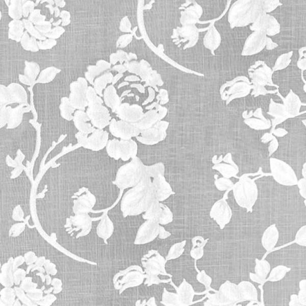 Υφασματα για Κουρτινες - Κουρτίνες με το μέτρο για όλο το σπίτι ,Mydear natural floral Φ300 ,ημιδιαφανή