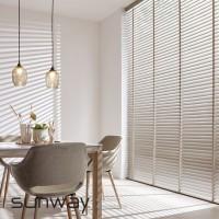Οριζόντιες Περσίδες , ξύλινες και μεταλλικές ,για οικιακή ή επαγγελματική χρήση