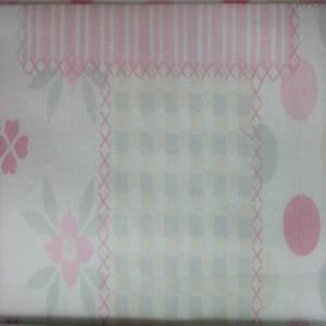 Κουρτίνες με το μέτρο για παιδικά δωμάτια, για κορίτσια , για αγόρια , για bebe δωμάτια PANDA /01 ροζ πατσγουρκ Φ2,80 βαμβακερό