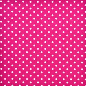 Κουρτίνες με το μέτρο για παιδικά δωμάτια, για κορίτσια , για αγόρια , για bebe δωμάτια Topos col.5 Φ2,80 φούξια πουά βαμβακερό , χωρίς διαφάνεια