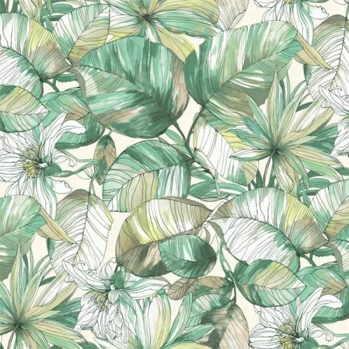 Υφάσματα Επίπλωσης Εξωτερικού Χώρου Floral