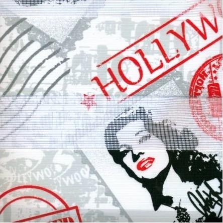 Ρολερ σκίασης ,Διπλό Ρόλερ Day and Night 100X100 εκ Dm_Zebra 50-10 Hollywood με ρυθμιζόμενη είσοδο φωτός μερικής συσκότισης